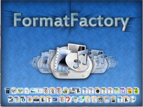 Format Factory โปรแกรมแปลงไฟล์มัลติมีเดียแทบทุกชนิด